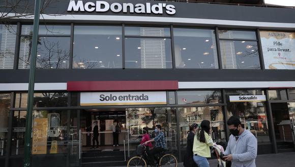 McDonald's retomó la atención en salón desde el 20 de julio. (Foto: Hugo Perez / GEC)