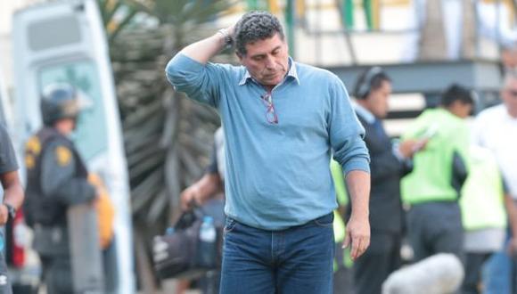 Universitario: Luis Fernando Suárez ya no es técnico crema. (Foto: El Comercio)