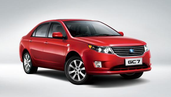 Geely lanzó al mercado el nuevo GC7