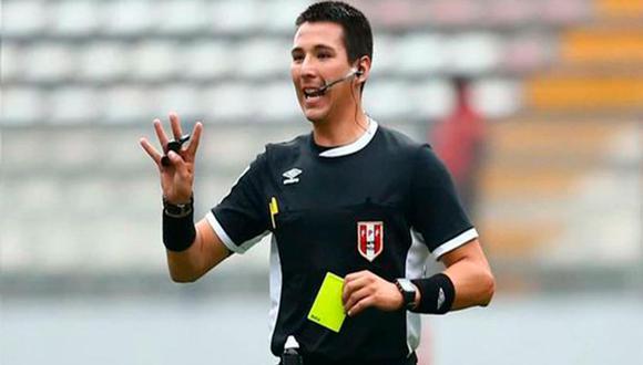 Kevin Ortega dirigirá una de las semifinales de fútbol masculino en Tokio 2020 | Foto: Difusión.