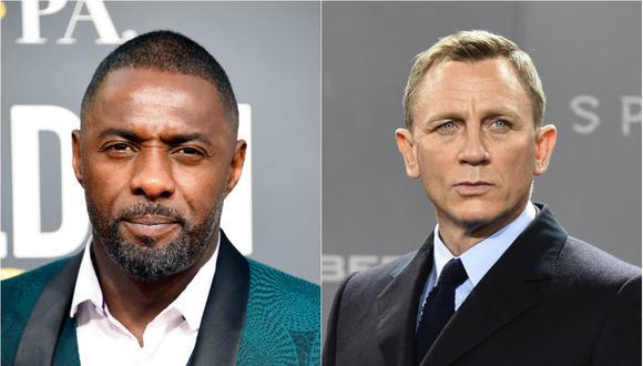 Idris Elba y Daniel Craig posaron juntos para una histórica fotografía (Foto: Agencias)