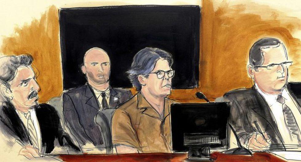 Juegos sexuales y castigos con latigazos: narran vida en la secta de Raniere. Foto: Archivo de AP