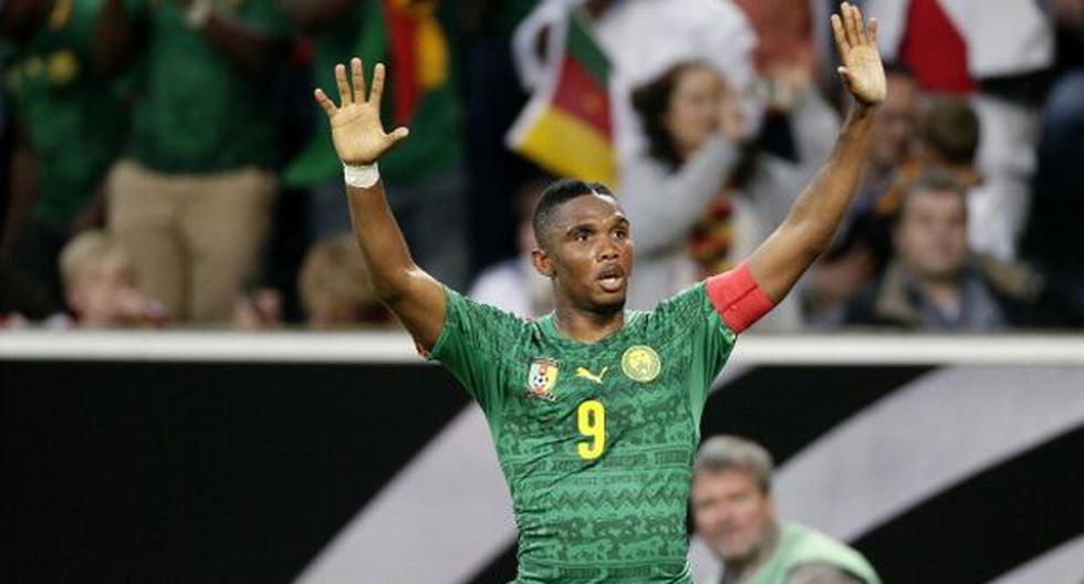Samuel Eto'o se retiró de la selección camerunesa de fútbol