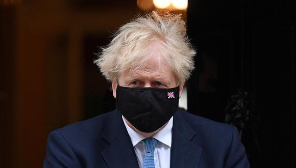 Boris Johnson, primer ministro británico. (Foto: AP)