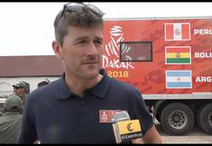 Dakar 2018: Marc Coma estudia el paso del rally por el Perú