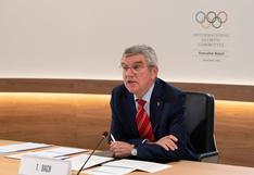"""Presidente del COI sobre la posible cancelación de Tokio 2020: """"No vamos a perder el tiempo con especulaciones"""""""
