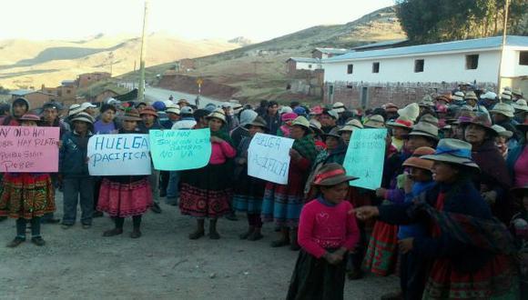 Protestas por Las Bambas: ofrecen tregua pero bajo condiciones