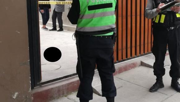 Policías llegaron y constataron de que se trataba de una parte humana (Foto: PNP)
