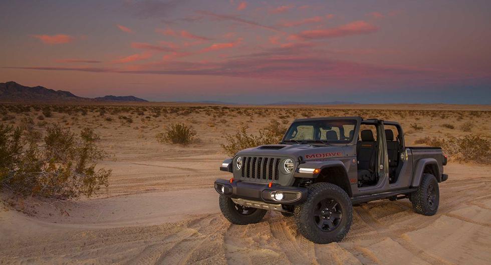 El nuevo Jeep Gladiator Mojave equipa un motor V6 de 3.6 litros que desarrolla 281 hp. (Fotos: Jeep).