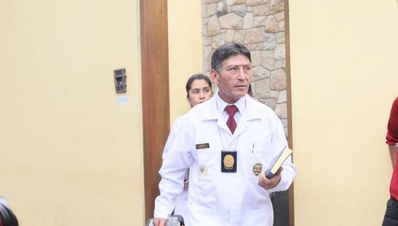 Peritos llegaron hasta la vivienda del ex presidente Alan García para realizar una diligencia de reconstrucción de los hechos registrados el día de su suicidio. (Foto: Juan Ponce)