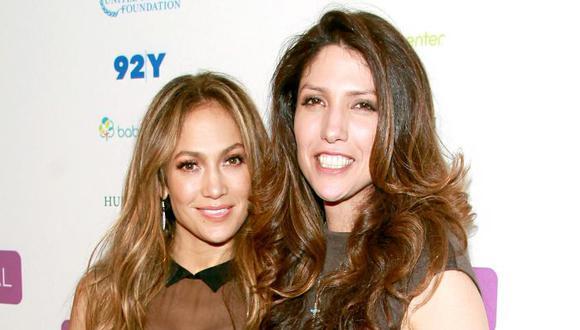 Jennifer Lopez tiene dos hermanas. Una de ellas es periodista y tiene más de 20 años de carrera (Foto: AFP)