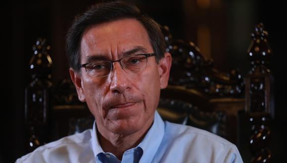 El expresidente Martín Vizcarra indicó que seguirá colaborando con la justicia peruana | Foto: Lino Chipana | GEC