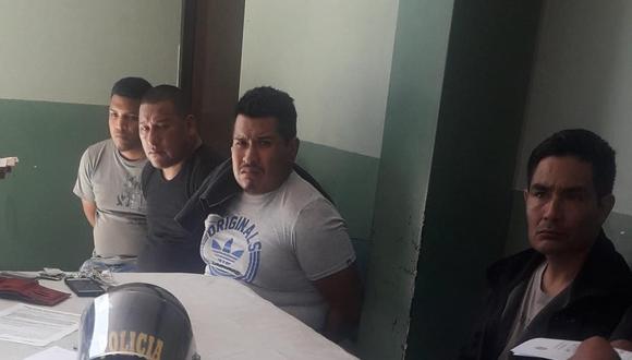Los detenidos serán llevados a la Dirección de Seguridad del Estado (DIRSEG) para las diligencias de ley, según información de la Policía Nacional del Perú (PNP). Se encontraban en la Plaza Dos de Mayo.