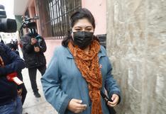 """Betssy Chávez sobre congreso de Perú Libre: """"No creo que la figura sea ponerle una hoja de ruta a Pedro Castillo"""""""