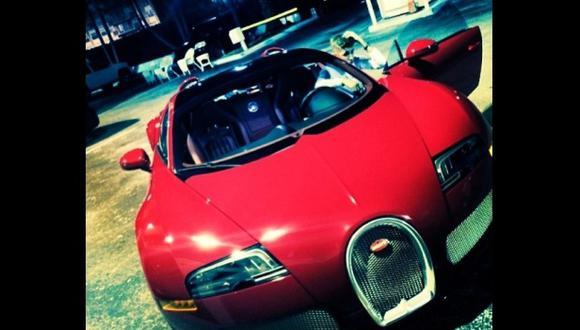 A Justin Bieber le regalaron un Bugatti Veyron Grand Sport