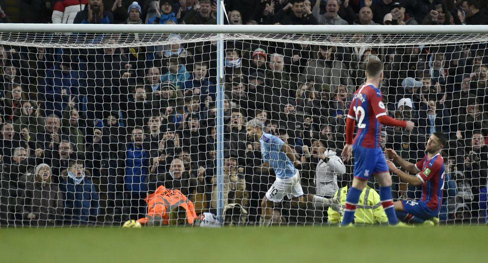 Estas son las mejores fotografías del encuentro entre el Manchester City y el Crystal Palace en la Premier League. (AP Photo/Rui Vieira)