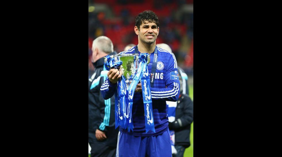 Chelsea: así celebra el título de la Copa de la Liga (FOTOS) - 10