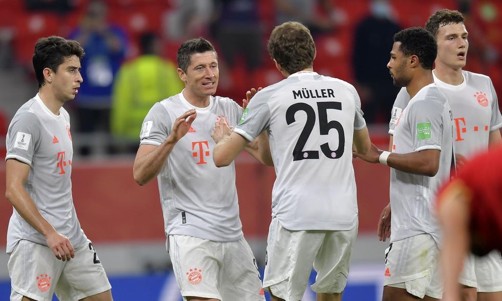 Bayern Múnich y Al-Ahly se enfrentaron en la semifinal del Mundial de Clubes | Foto: EFE