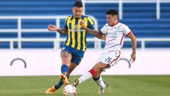 Rosario Central venció 1-0 a San Lorenzo por la jornada 12 de la Liga Profesional en el Estadio Gigante de Arroyito.