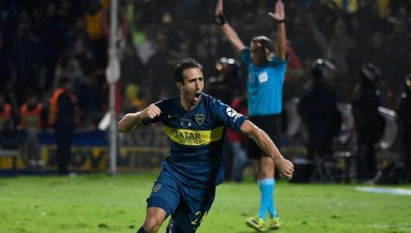 Boca Juniors quebró el maleficio y se coronó campeón de la Supercopa Argentina tras tres finales fallidas al vencer por penales 6-5 a Rosario Central luego de igualar sin goles en el tiempo reglamentario. (Foto: AFP)