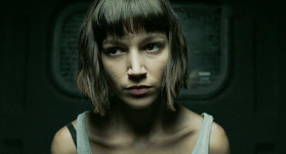 """Úrsula Corberó es Tokio en """"La casa de papel"""". (Fuente: Netflix)"""