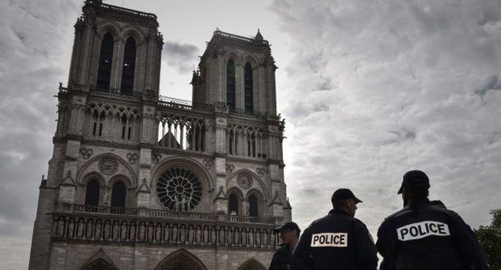Catedral de Notre Dame, Francia. (Foto: AFP)