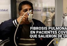 Pacientes que vencieron la COVID-19 en UCI podrían presentar fibrosis pulmonar, advierte EsSsalud