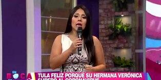Tula Rodríguez revela emocionada que su hermana venció al COVID-19