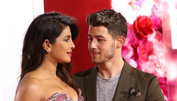 Priyanka Chopra y Nick Jonas (Fuente: EFE)