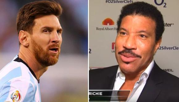 Lionel Richie y su apoyo incondicional a Messi tras la final