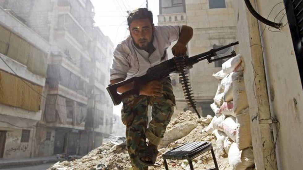 La guerra en Siria ha provocado la huida de más de 5 millones de personas, según cifras de ACNUR.