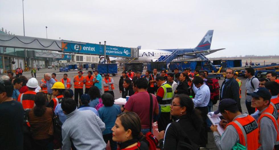 Simulacro de sismo: así se llevó a cabo en Lima [FOTOS] - 6