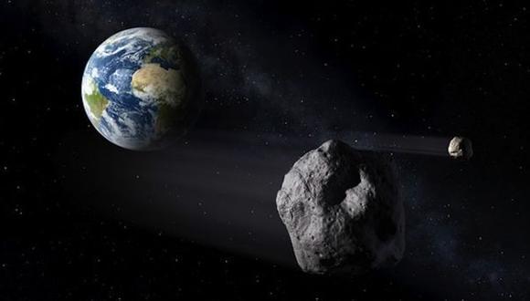 Quinientos asteroides amenazan potencialmente la Tierra