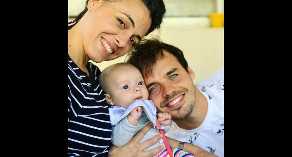 Rita Rojas Sánchez nació un 21 de diciembre del 2018, hija de Benjamín Rojas y la exproductora Martina Sánchez Acosta.  (Foto: @rojas_benja/Instagram)
