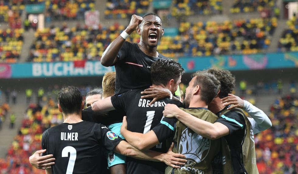 Austria vs. Macedonia del Norte: las imágenes del duelo por la Eurocopa | Foto: REUTERS