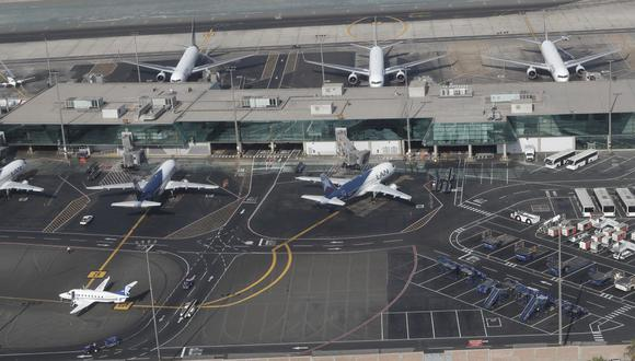 El pasado 20 de noviembre, los controladores de tránsito aéreo acordaron acatar un paro de 72 horas debido a que Corpac no habría atendido sus reclamos. (Fot: César Campos / GEC)