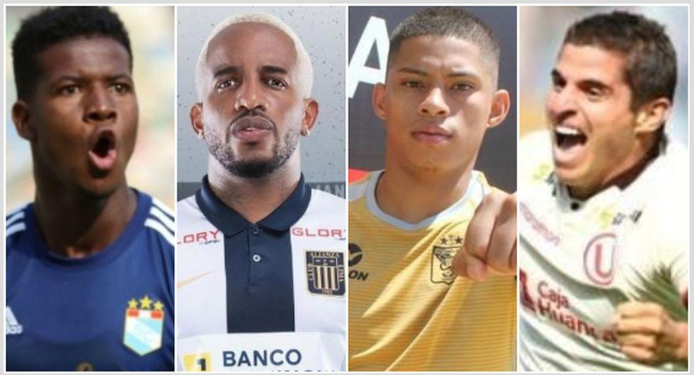 Los 20 jugadores más caros de la Liga 1 2021. (Foto: Liga de Fútbol Profesional, Alianza Lima, Melgar, Universitario)