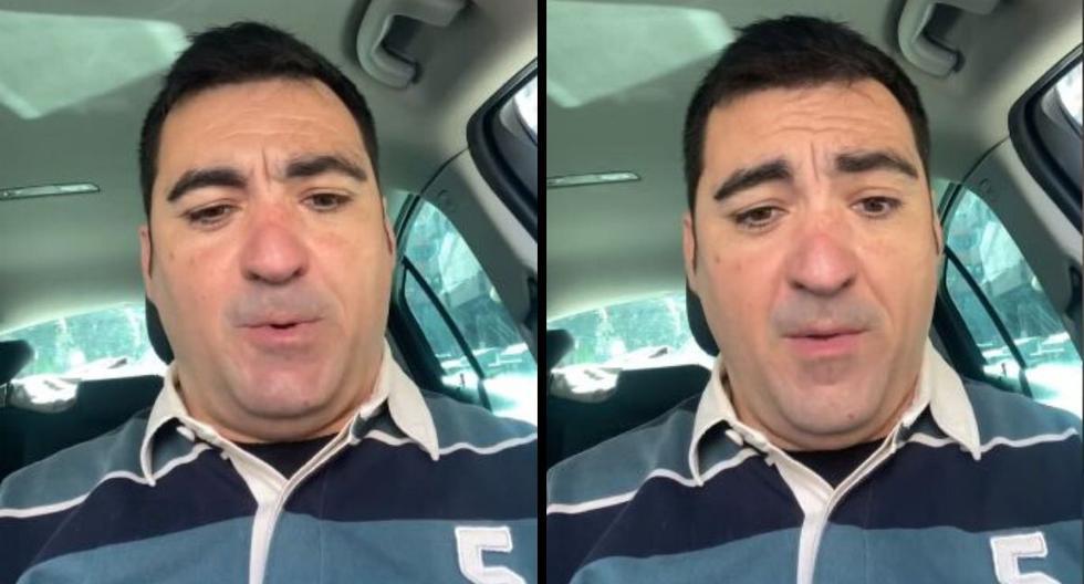 Él es Toño Corcoles Vazquez, el protagonista del viral. (Captura video de Facebook)