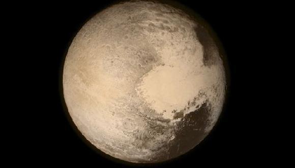 El océano de Plutón tendría tanta agua como los océanos de la Tierra. (Foto: Reuters)
