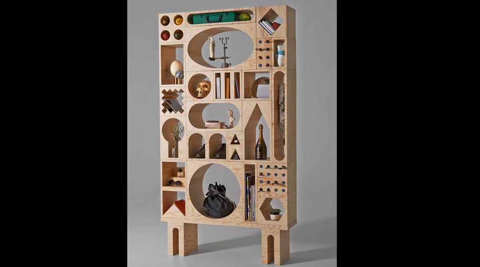 Room Collection: el estante con múltiples formas geométricas - 5