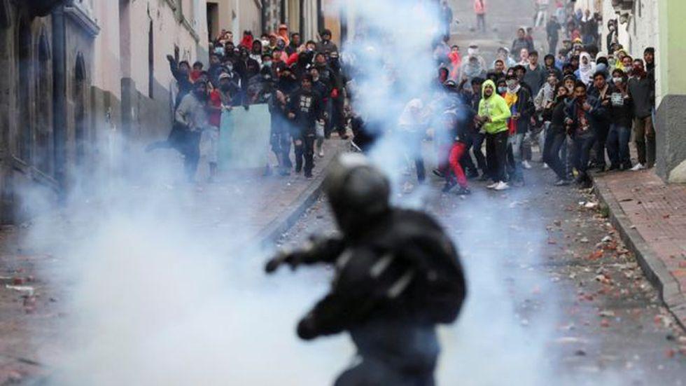 Las tensiones en Quito incrementaron los últimos días. (Reuters).