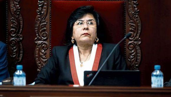 Marianella Ledesma es la primera mujer en convertirse en presidenta del Tribunal Constitucional (TC). (Foto: GEC)