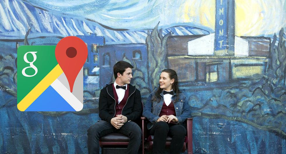 ¿Google Maps capta preciso instante en que se grababa '13 Reasons Why'? (Foto: Google)