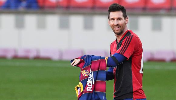 La confesión de Lionel Messi sobre el homenaje a Diego Maradona con la camiseta de Newell's. (Foto: Reuters)