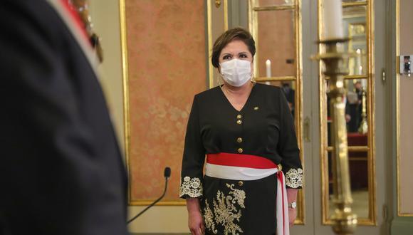 Sasieta asumió el último jueves como ministra en reemplazo de Gloria Montenegro. (Foto: Presidencia)