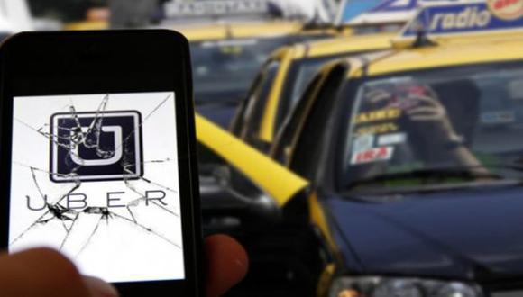 Los taxis porteños contraatacan a Uber