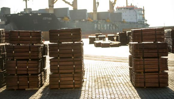 El cobre de la LME ha ganado un 27% en lo que va del año. (Foto: AFP)