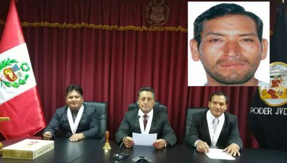 Julio César Huamán Muñoz, de 41 años, fue sentenciado por el delito contra la libertad, en la modalidad de violación en agravio de una menor.