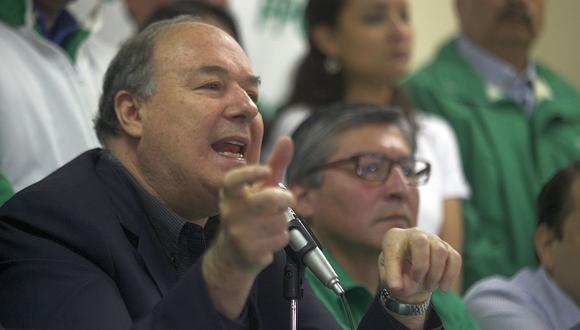 El presidente del PPC, Raúl Castro, es señalado como responsable de la escasa votación que alcanzó Jaime Zea. (Foto: Juan Ponce/Archivo El Comercio)