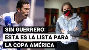 Sin Guerrero: esta es la sorpresiva convocatoria de Perú para la Copa América